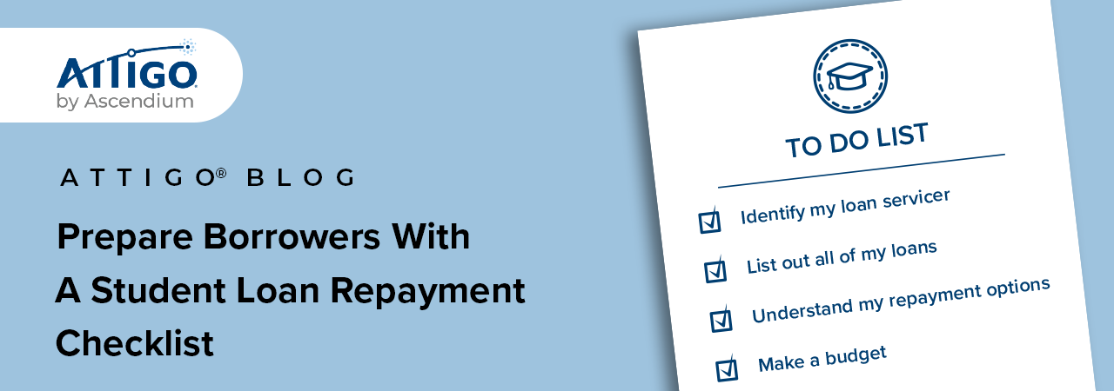 student loan checklist