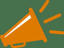 orange-megaphone