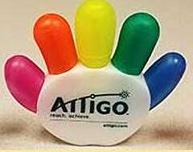 Attigo high-five highlighter